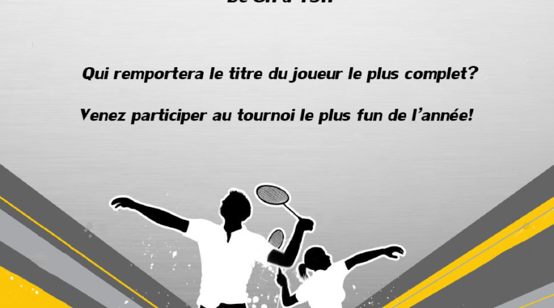 flyer tournoi interne 1